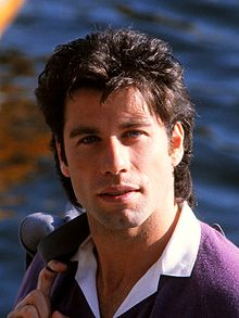 L'actor estatounitense John Travolta en 1983.