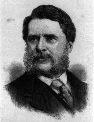 John Taylor Johnston - 1891 Harper's Weekly engraving