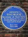 John Thurloe Secretary of State 1652 Bencher of Lincoln's Inn 1654.jpg