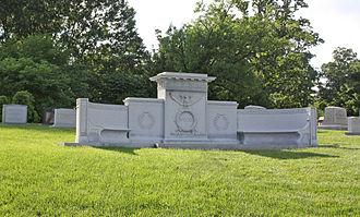 John W. Weeks - Weeks's grave in Arlington National Cemetery