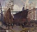 John William Beatty - SHIP BUILDING, COLLINGWOOD (CWM 19710261-0105).jpeg