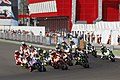 Jorge Lorenzo leads the pack 2014 Termas de Río Hondo.jpeg