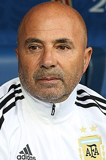 Jorge Sampaoli Argentine football manager