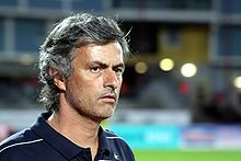 José Mourinho, dal 2008 al 2010 allenatore dell'Inter con la quale ha vinto cinque titoli, compresi due scudetti e una Champions League