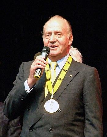 Juan Carlos I of Spain%2C Karlspreis 2008