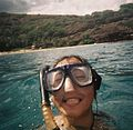 Judy snorkeling in hawaii.jpg