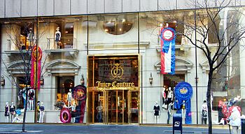 English: Juicy Couture at 640 Fifth Avenue, Ne...