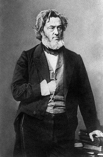 Jules Favre - Jules Favre in 1865, photo taken by Nadar.