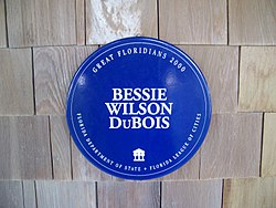 Jupiter inlet fl hist and arch site dubois house gf plaque01