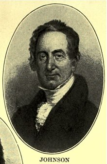 A drawing of William Johnson during 1819