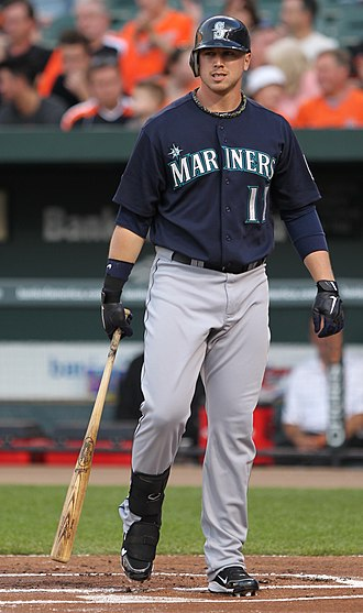 Justin Smoak - Smoak with the Seattle Mariners in 2011
