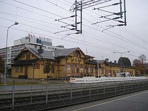 Jyväskylä Central Station - Image: Jyväskylä old railway station