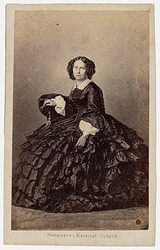 Sophie of Württemberg - Queen Sophie circa 1860
