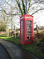 K6 telephone box in Rectory Road - geograph.org.uk - 1606731.jpg