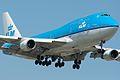 KLM 747-400 City of Lima PH-BFL (4636336032).jpg