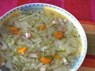 Cabbage soup - Image: Kapusniak