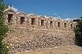 Karababa castle, chemin de ronde, Chalkida, Greece.jpg