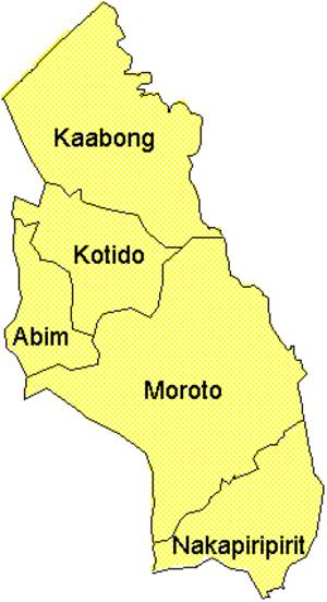Karamoja - Districts of Karamoja