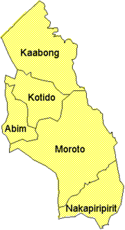 Districts of Karamoja