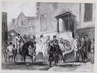 Anno 1566. Inlevering van het verzoekschrift der edelen