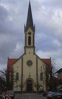 Karlsdorf-Neuthard Place in Baden-Württemberg, Germany