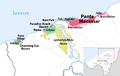 Karte der Wirtschaftssonderzone ZEESM in Oecusse, Osttimor.png