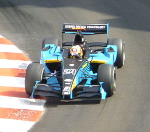 Karun Chandhok - Chandhok driving for Ocean Racing Technology at the Monaco round of the 2009 GP2 Series season