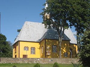 Žemaičių Naumiestis - St. Michael the Archangel Church