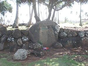 Wailua River State Park - Image: Kauai Heiau Hauola altar