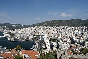 Kavala - Panoramic view