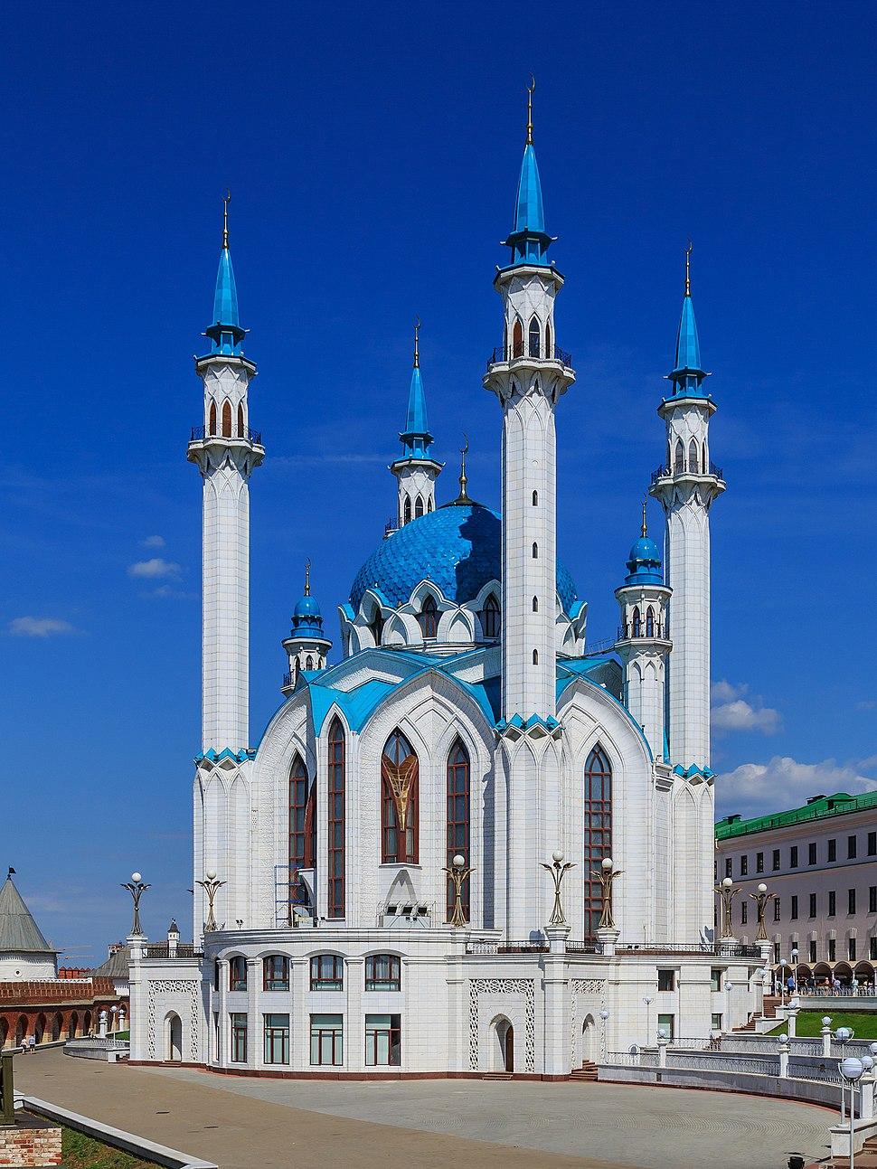 Kazan Kremlin Qolsharif Mosque 08-2016 img2