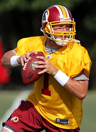 Kellen Clemens - Clemens with the Redskins