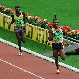 Kenenisa Bekele - Kenenisa competing in the 2006 Golden League