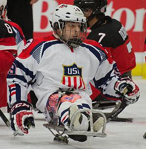 Kevin McKee (sledge hockey) - McKee in 2015