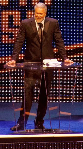 Nash was inducted into the WWE Hall of Fame in 2015 Kevin Nash Hall of Fame 2015.jpg