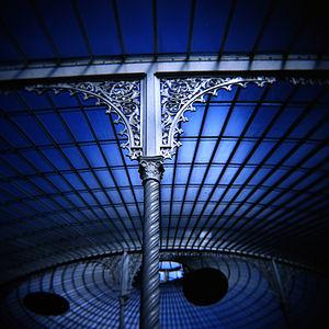 Saracen Foundry - Cast iron work details on the Kibble Palace, Glasgow Botanic Gardens.