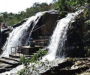 Kigal Water Falls - Image: Kigal falls