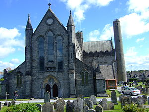 Cainnech of Aghaboe - St. Canice's Cathedral in Kilkenny.