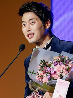 Kim Jaewon at the 20th Korean Culture and Entertainment Awards.jpg