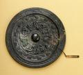 Kinesisk bronsspegel - Hallwylska museet - 98749.tif