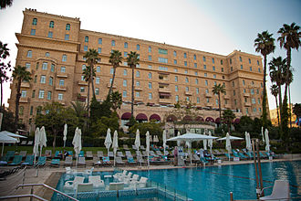 King David Hotel - King David Hotel and pool (2012)