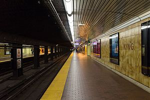 King station - Image: King platform 01