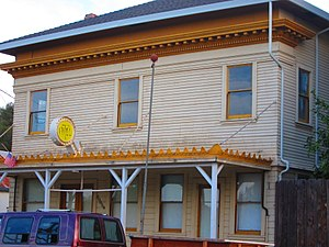 National Register of Historic Places listings in Stanislaus County, California - Image: Kingen Hotel