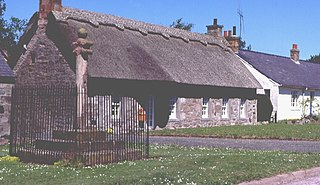 Kinrossie village in Perth and Kinross, Scotland, UK