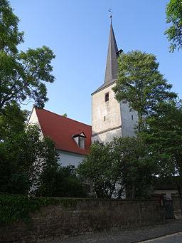 Church in Kleinmölsen, Thuringia, Germany