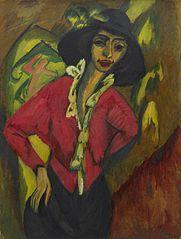Gerda, Half-Length Portrait