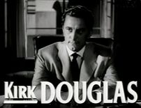 Cropped screenshot of Kirk Douglas from the tr...