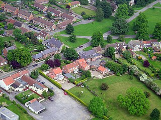 Kirkby Fleetham Village in North Yorkshire, England