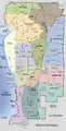 Kirkland, Washington neighborhood map.png