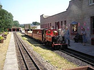 Kirklees Light Railway - Image: Kirklees Light Railway Clayton West